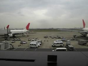 アメックスで羽田空港ラウンジ