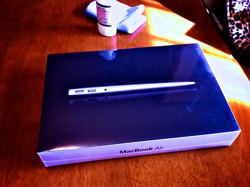 """MacBook Air 11"""" 買っちゃったヾ(´▽`*)ゝ"""