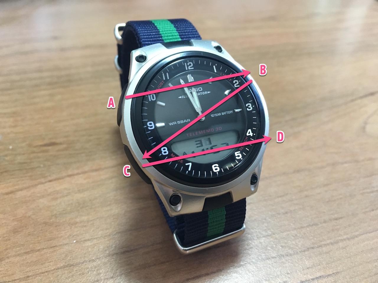 CASIO AW-80 の時計合わせの方法まとめ